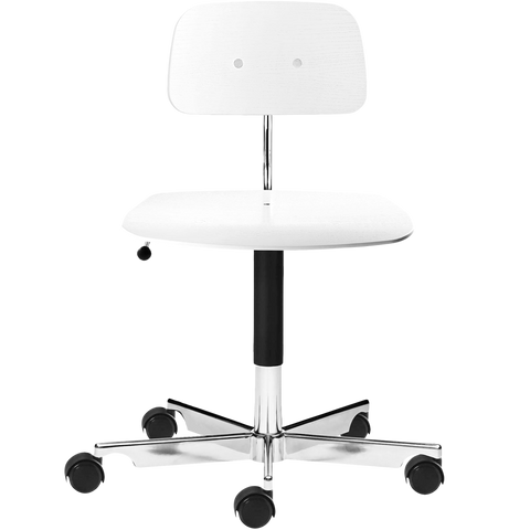 KEVI 2533 OFFICE CHAIR ASH SOFT WHITE