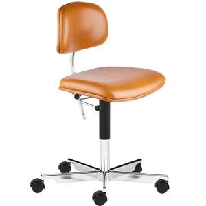 KEVI 2534U OFFICE CHAIR BARNWOOD LEATHER