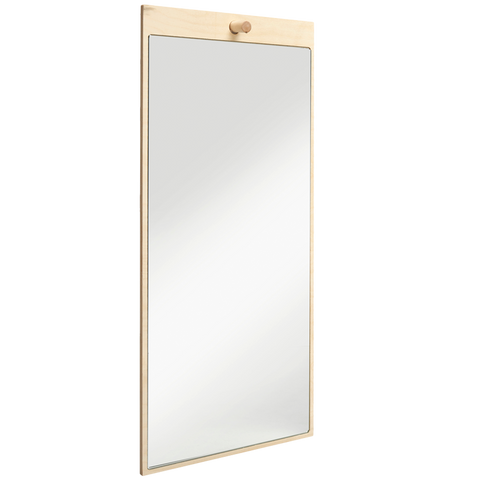 RECTANGLE PLYWOOD MIRROR
