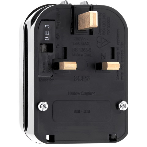 EU TO UK SAFTEY PLUG ADAPTOR