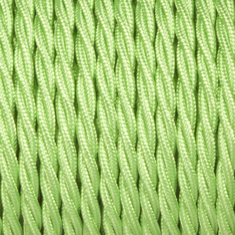 APPLE GREEN FABRIC CABLE