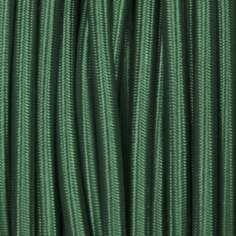 FOREST GREEN ROUND FABRIC CABLE