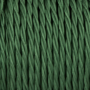 FOREST GREEN TWISTED FABRIC CABLE