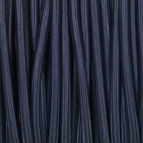 NAVY BLUE ROUND FABRIC CABLE