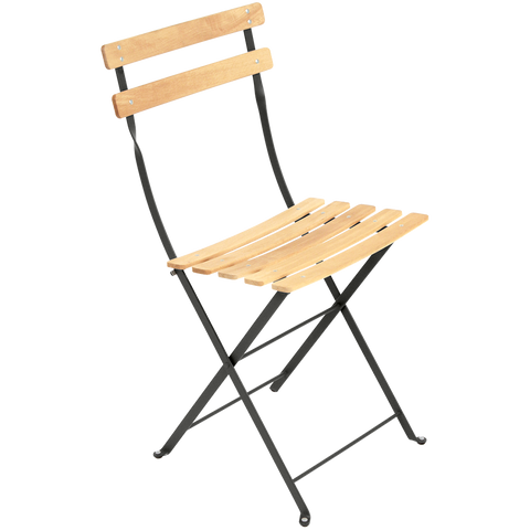 BISTRO FOLDING CHAIR BEECHWOOD - CHAIRS - DYKE & DEAN  - Homewares | Lighting | Modern Home Furnishings
