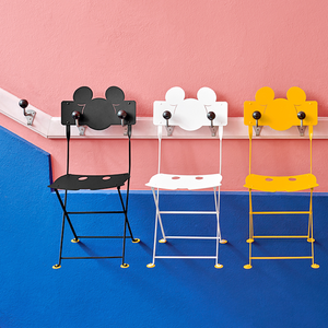 MICKEY MOUSE FOLDING CHAIR - CHAIRS - DYKE & DEAN  - Homewares | Lighting | Modern Home Furnishings