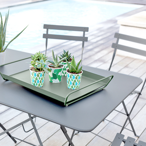SQUARE BISTRO FOLDING TABLE 57