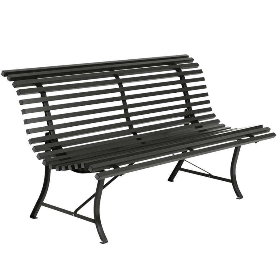 OUTDOOR PARK BENCH - BENCHES - DYKE & DEAN  - Homewares | Lighting | Modern Home Furnishings
