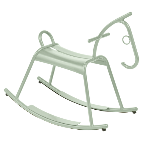 CHILDREN'S OUTDOOR ROCKING HORSE