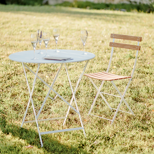 BISTRO FOLDING TABLE 96Ø - TABLES - DYKE & DEAN  - Homewares | Lighting | Modern Home Furnishings