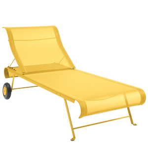 FABRIC SUN LOUNGER - LOUNGE CHAIRS - DYKE & DEAN  - Homewares | Lighting | Modern Home Furnishings