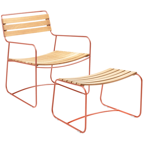OUTDOOR TEAK LOUNGER SET - LOUNGE CHAIRS - DYKE & DEAN  - Homewares | Lighting | Modern Home Furnishings