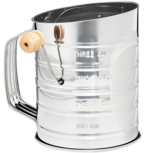 ROTARY FLOUR SIFTER - KITCHENWARE - DYKE & DEAN  - Homewares | Lighting | Modern Home Furnishings