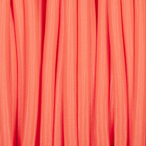 ELECTRIC RED ROUND FABRIC CABLE