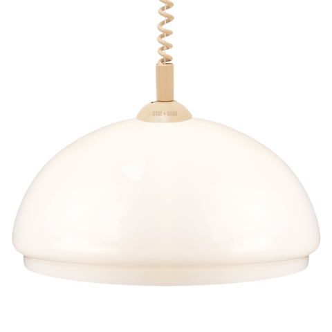 OPAL DOME RETRACTABLE CORD LAMP SMALL