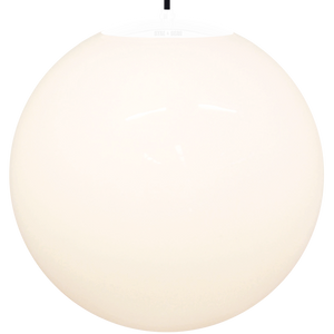 OPAL GLOBE PENDANT WHITE 600mm