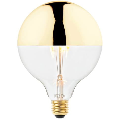 DYKE & DEAN LED GOLD CAP MEGA BULB E27 - BULBS - DYKE & DEAN  - Homewares | Lighting | Modern Home Furnishings
