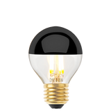 DYKE & DEAN LED BLACK CAP E27 GOLF BALL BULB