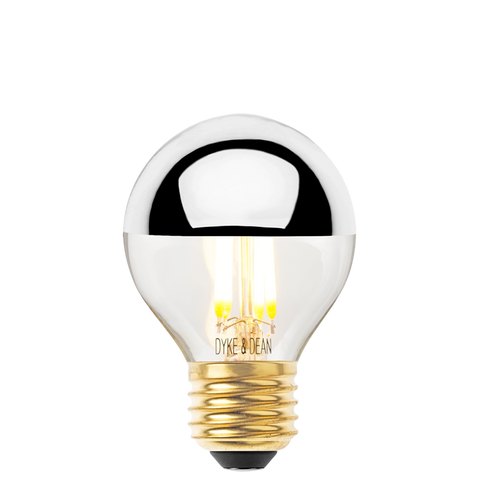 DYKE & DEAN LED SILVER CAP GOLF BALL E27 BULB - BULBS - DYKE & DEAN  - Homewares | Lighting | Modern Home Furnishings