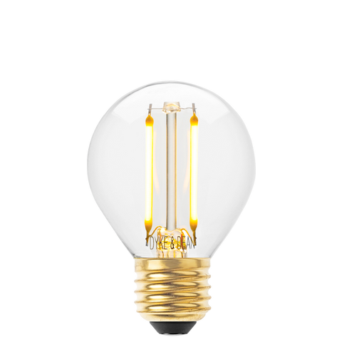 DYKE & DEAN LED FILAMENT GOLF BALL E27 BULB