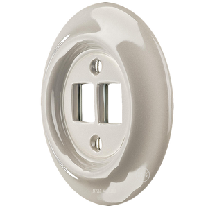 PORCELAIN WALL SOCKET CAPPUCCINO PC/USB