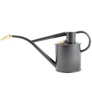 INDOOR METAL WATERING CAN GREY - UTILITY - DYKE & DEAN  - Homewares | Lighting | Modern Home Furnishings