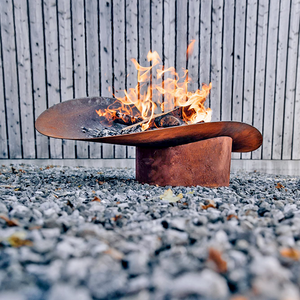 ELLIPSE FIRE BASKET & GRILL