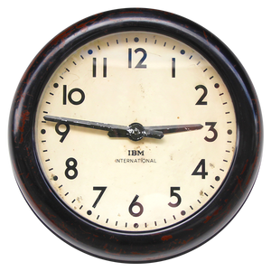 IBM ORIGINAL BAKELITE CLOCK 1960