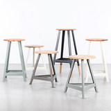 DYKE & DEAN SHOP STOOL LARGE