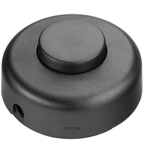 BLACK FOOT INLINE LAMP SWITCH