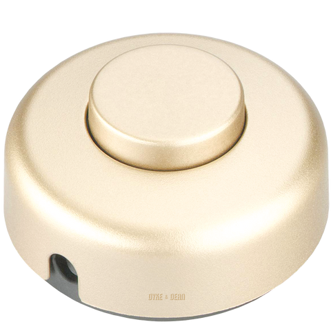 GOLD FOOT INLINE LAMP SWITCH