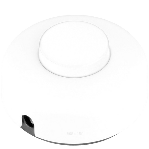 WHITE FOOT INLINE LAMP SWITCH