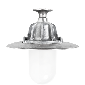CAST LANTERN PENDANT FROSTED FIXED