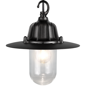 CAST SHADE LANTERN BLACK PENDANT