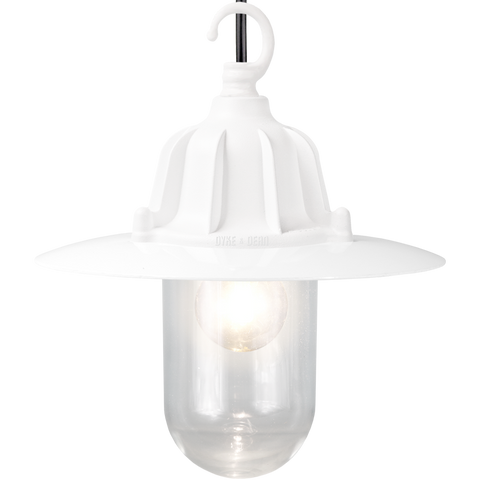 CAST SHADE LANTERN WHITE PENDANT