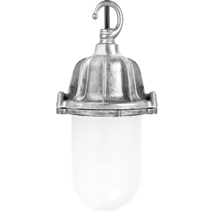 CAST LANTERN FROSTED PENDANT