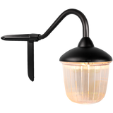 CORNER SWAN NECK LANTERN BLACK RIBBED CASE