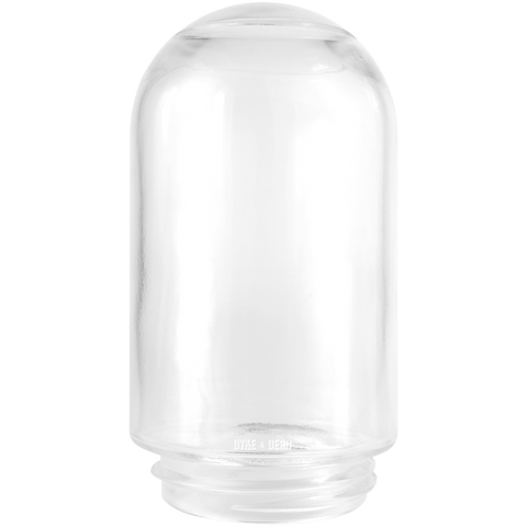 JAR CLEAR GLASS 85mm