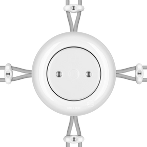 SURFACE PORCELAIN JUNCTION BOX WHITE - PORCELAIN WALL SOCKETS - DYKE & DEAN  - Homewares | Lighting | Modern Home Furnishings