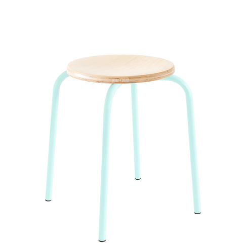CHILDREN'S TUBULAR D&D STOOL BEECHWOOD