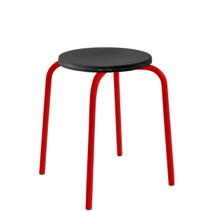CHILDREN'S TUBULAR D&D STOOL BLACK WOOD