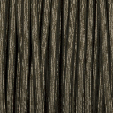 KHAKI GREEN ROUND FABRIC CABLE