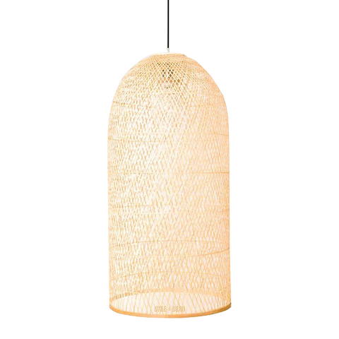 BAMBOO CAP NATURAL SMALL PENDANT