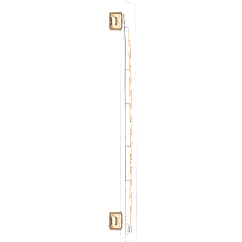 LED FILAMENT GLASS DOUBLE TUBE PEG BULB 12W 500MM - BULBS - DYKE & DEAN  - Homewares | Lighting | Modern Home Furnishings