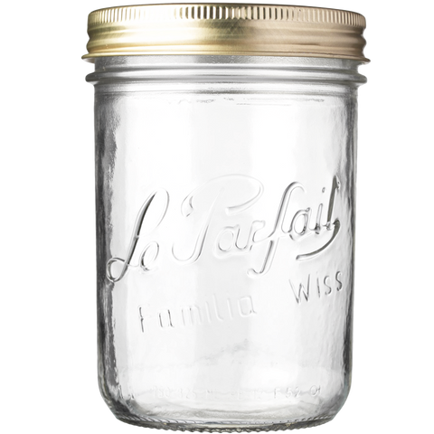 LE PARFAIT SCREW TOP PRESERVING JAR 500ML
