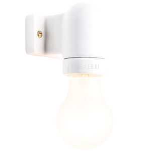 CERAMIC E27 DROP ARM WALL FITTING - WALL LIGHTS - DYKE & DEAN  - Homewares | Lighting | Modern Home Furnishings