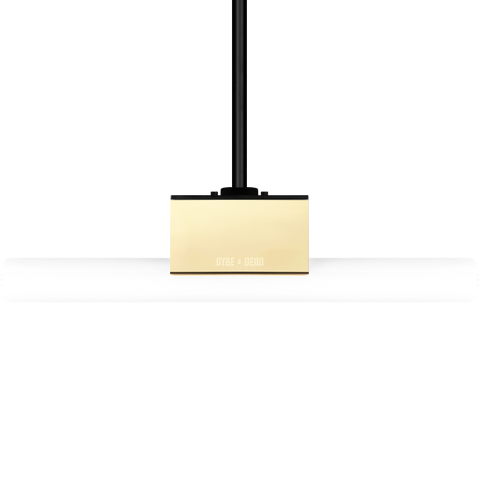 BRASS PEG TUBE PENDANT FIXED M10