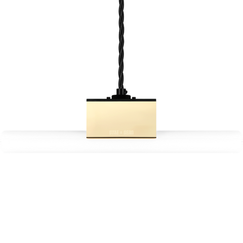BRASS PEG TUBE PENDANT