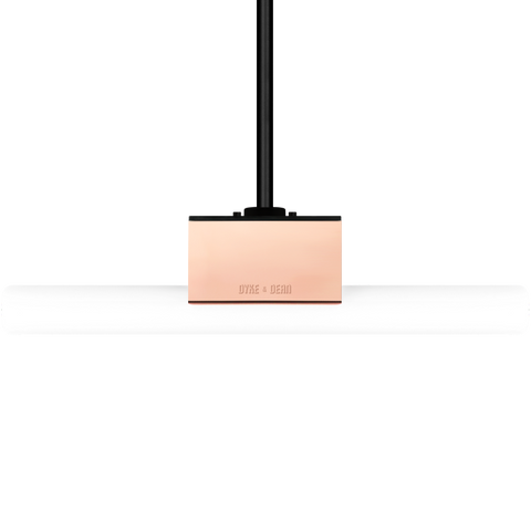 COPPER PEG TUBE PENDANT FIXED M10