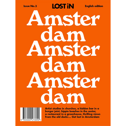 LOST IN AMSTERDAM - BOOKS - DYKE & DEAN  - Homewares | Lighting | Modern Home Furnishings